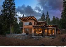 Modern Rustic Mountain Home Plans