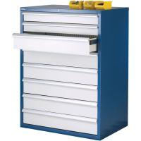 Euroslide 8 Drawer Storage Cabinet 1200mm high - ESE Direct