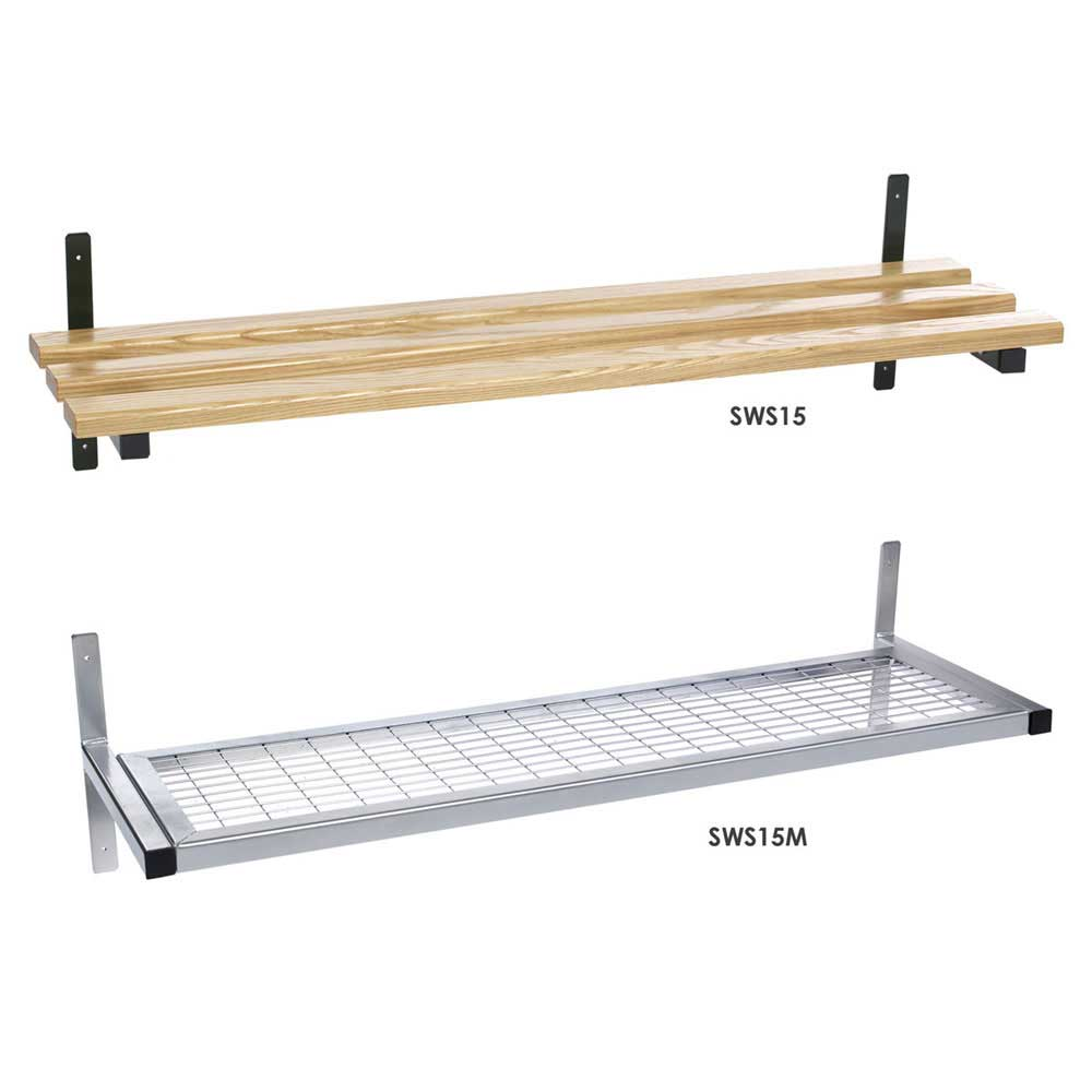 Wall Fixed Mesh Or Wood Shelf Ese Direct