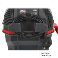 Sealey Wall Mounted Garage Vacuum Cleaner - ESE Direct