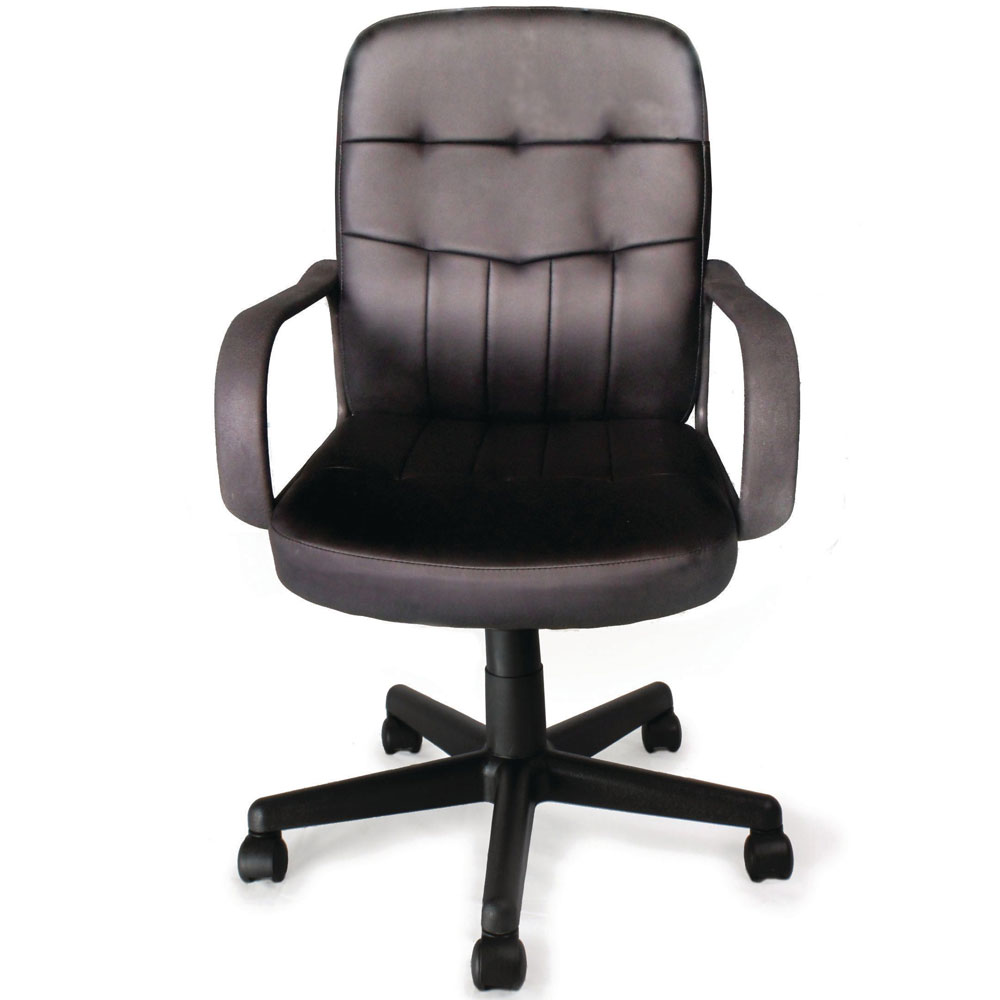Executive Leather Chair Executive Leather Office Chair With Tilt Recline And Armrests