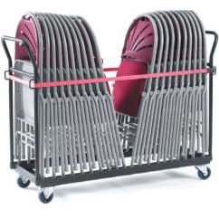 Hanging Chair Trolley Wegner Shell Upright Storage For 24x 2600 Series Chairs Pxf40000 | Ese Direct