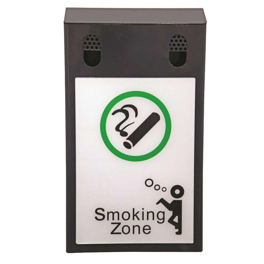 Wall Mounted Smoking Bin With Advertising Space