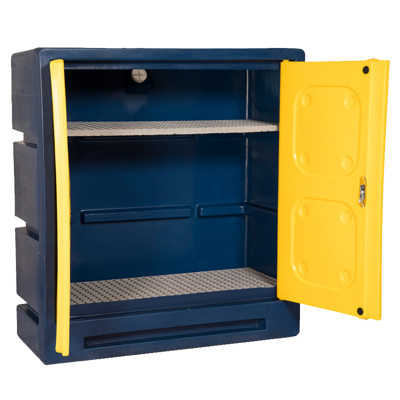 Plastic Chemical Storage Cabinet ChemCube  ESE Direct
