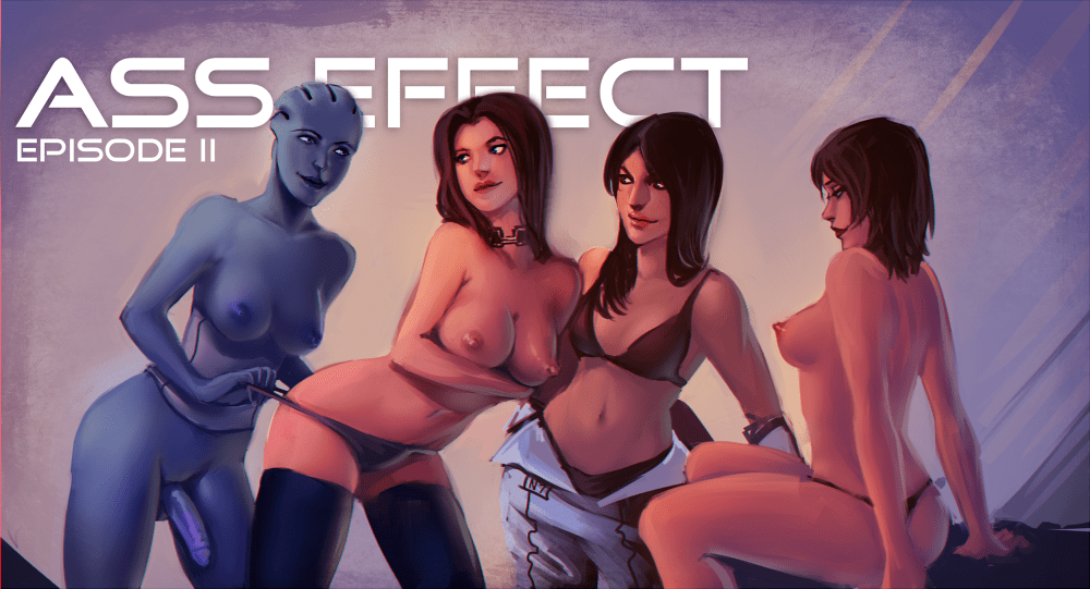 Ass Effect Ep 2 by Peachy56