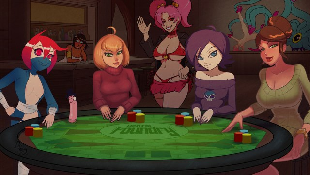 Strip Poker Night At The Foundry By Thedirtymonkey