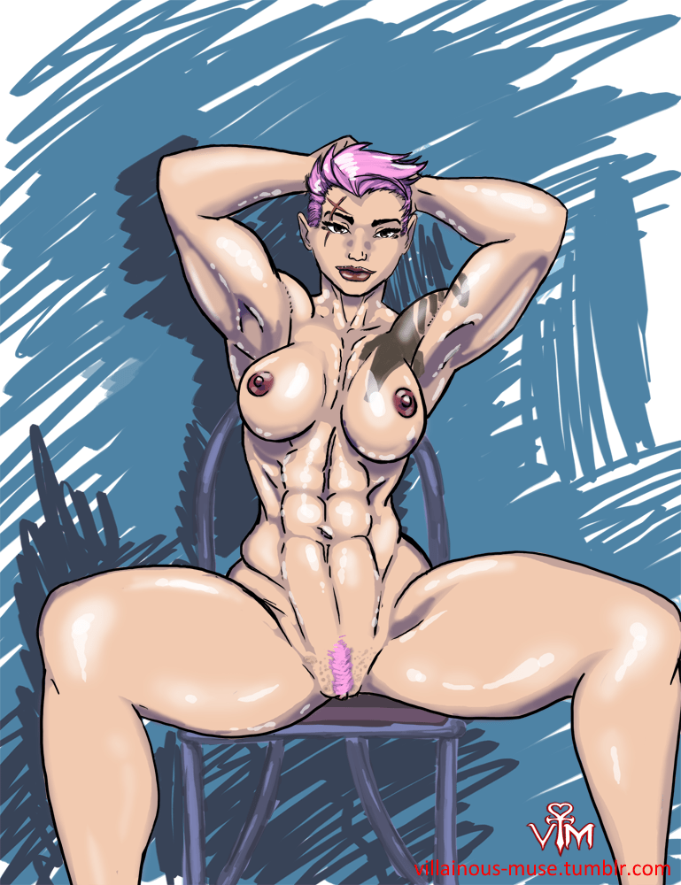 Overwatch Zarya by Villainous_Muse  Hentai Foundry