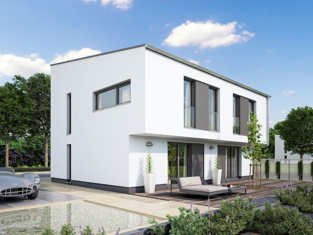 Stadtvilla - Massiv-Oder Fertighaus: Grundrisse & Preise