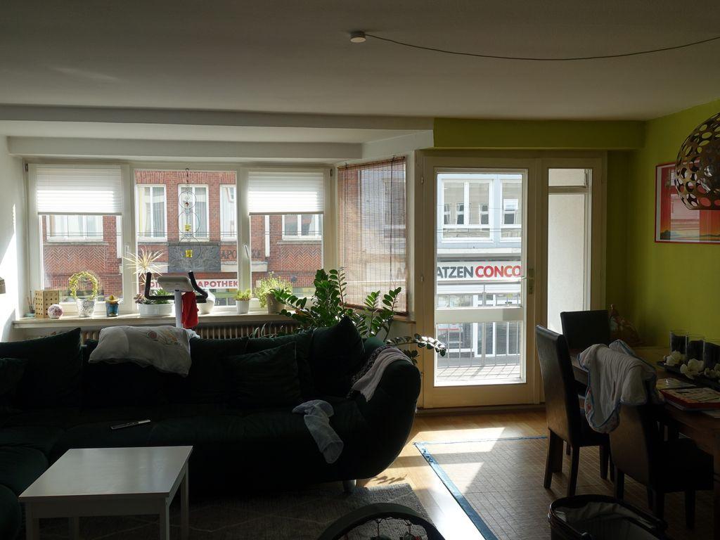 Schne gerumige zwei Zimmer Wohnung in Bremen mit groer Terasse Buntentorsteinweg