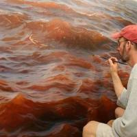 Realistic Sea Painting - Awesome Creativity