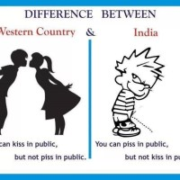 Kiss & Piss - India vs Western Countries