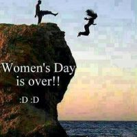 Now that Women's Day is over