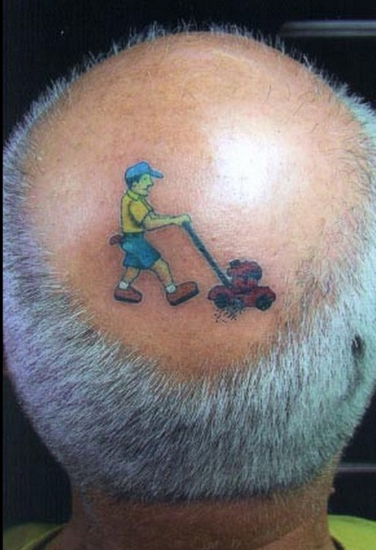 funny weird creative tattoos - jokesone pics (2)
