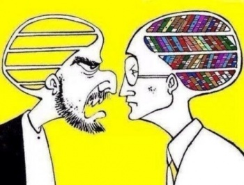 Empty mind v/s brain with wisdom