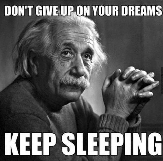 give up on your dream