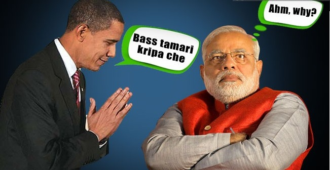 Meme Jokes On Obama Visit to India Republic Day