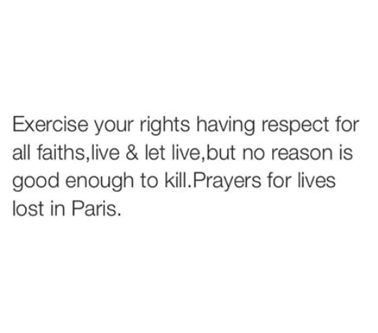 Prayer for Paris Attack