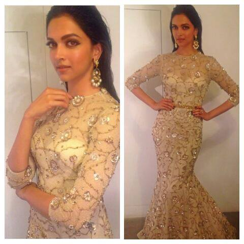 deepika padukone at star guild awards