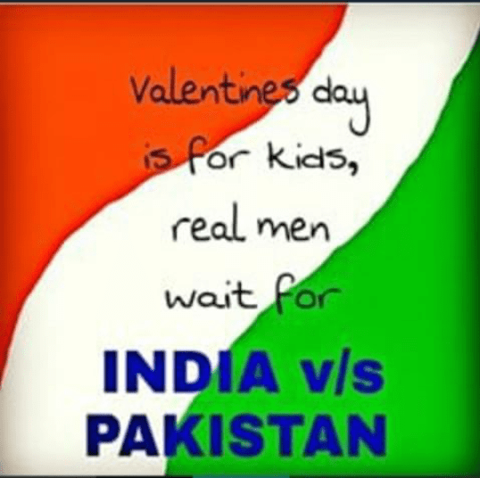 kids vs men on India Pak match