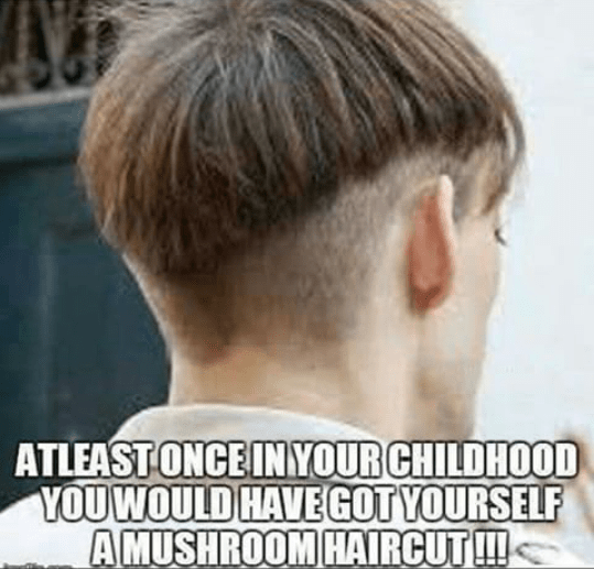 All of you must have got this hairstyle - mushroom or katora cut