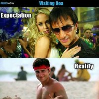 While travelling Goa expectation vs reality