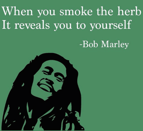 A message to all the smokers from Bob Marley