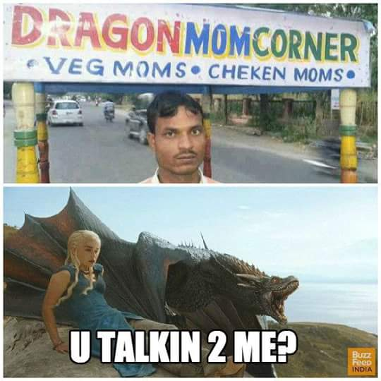 Now even Khaleesi is sold on streets - game of thrones