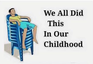 We all did this in our childhood