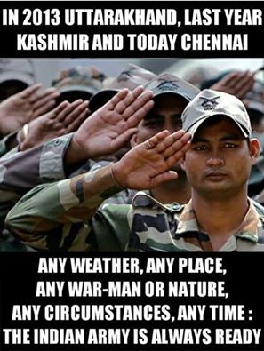 The Indian Army is always ready