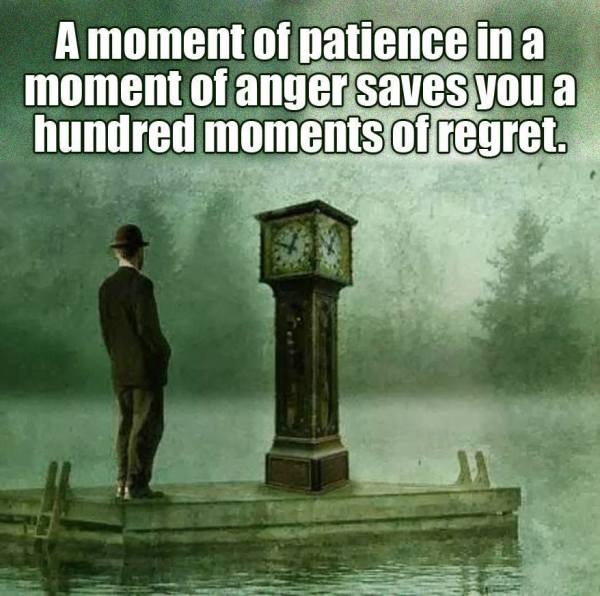 Beautiful quote and thought on being patient