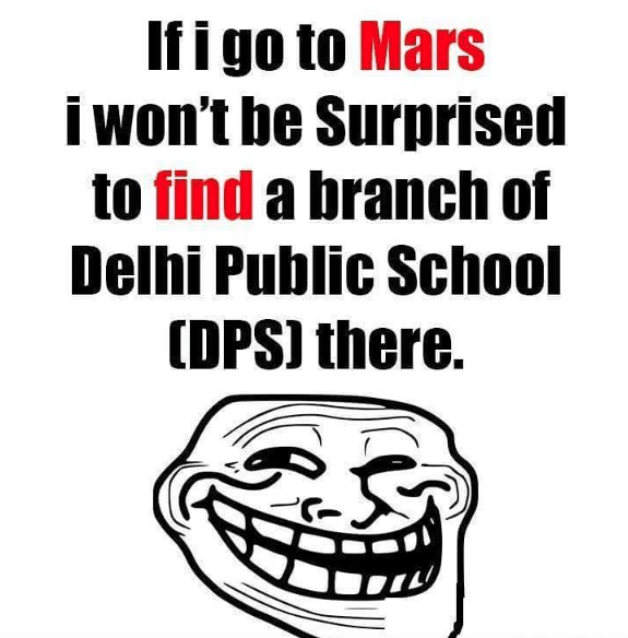 DPS school branches - Funny meme