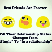 When your best friend is in a relationship - funny image