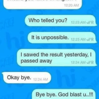 perfect answer to did you fail in english - english trolled