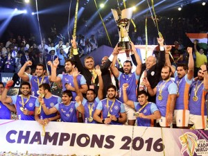 Congrats to team India for winning Kabaddii World Cup 2016