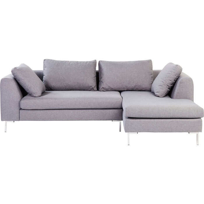 gianni corner sofa bed review average cost to reupholster a sectional small grey right kare design