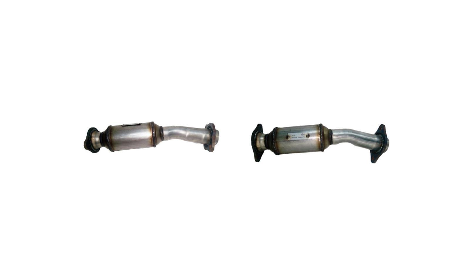 11 Sienna 2 7l Rear Under Van Catalytic Converter