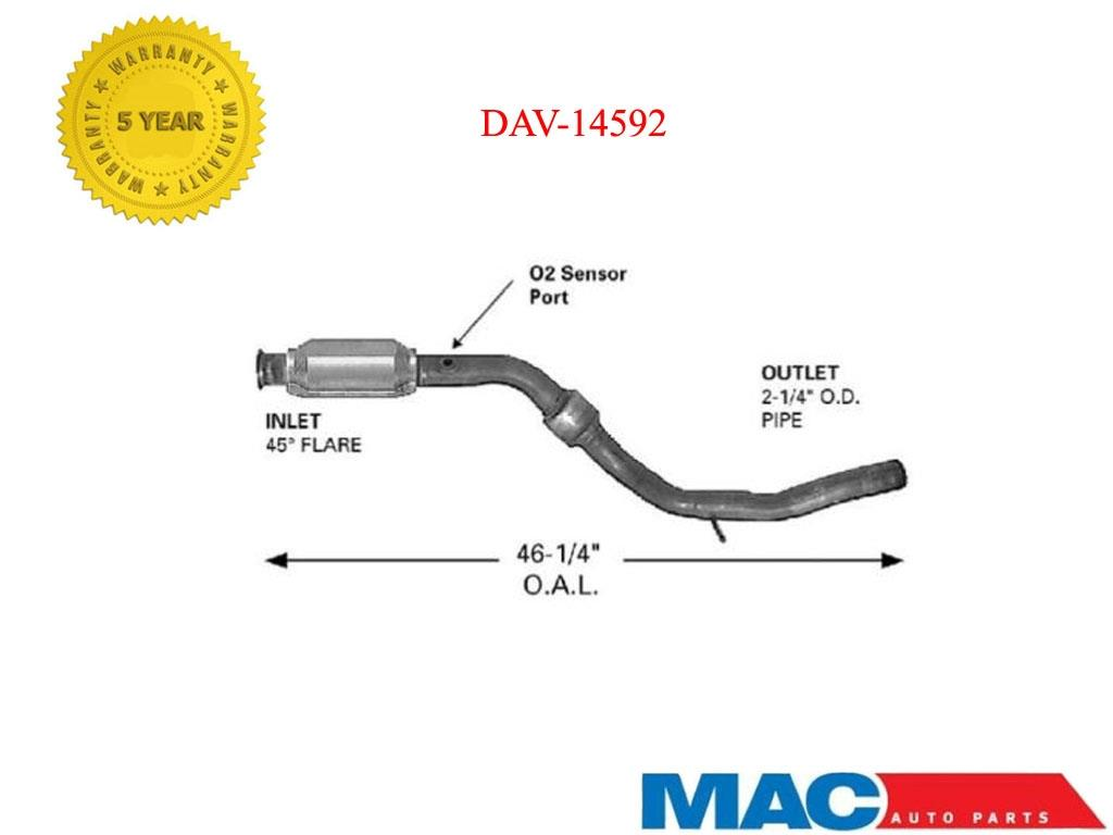 hight resolution of 1999 2004 d s catalytic converter fits chrysler 300m concorde dodge intrepid
