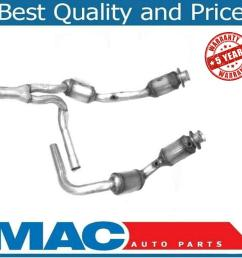 07 09 jeep wrangler 3 8 engine y pipe 4 catalytic converter h duty made in usa [ 1098 x 943 Pixel ]