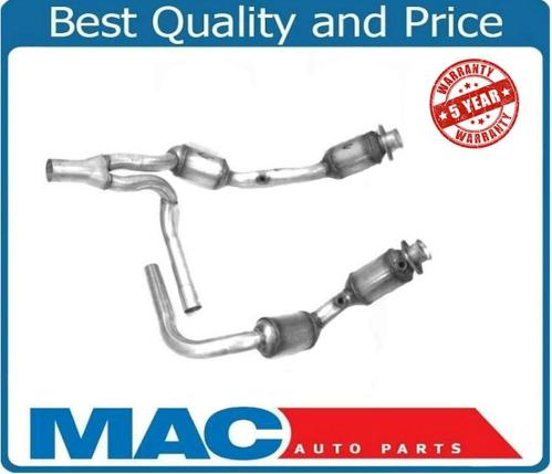 small resolution of 07 09 jeep wrangler 3 8 engine y pipe 4 catalytic converter h duty made in usa