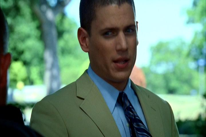 Michael's screen worn suit