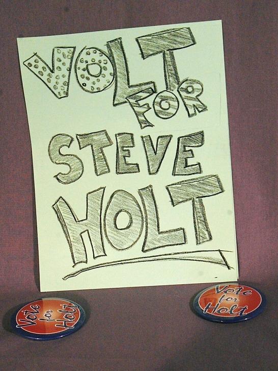 VOLT FOR STEVE HOLT