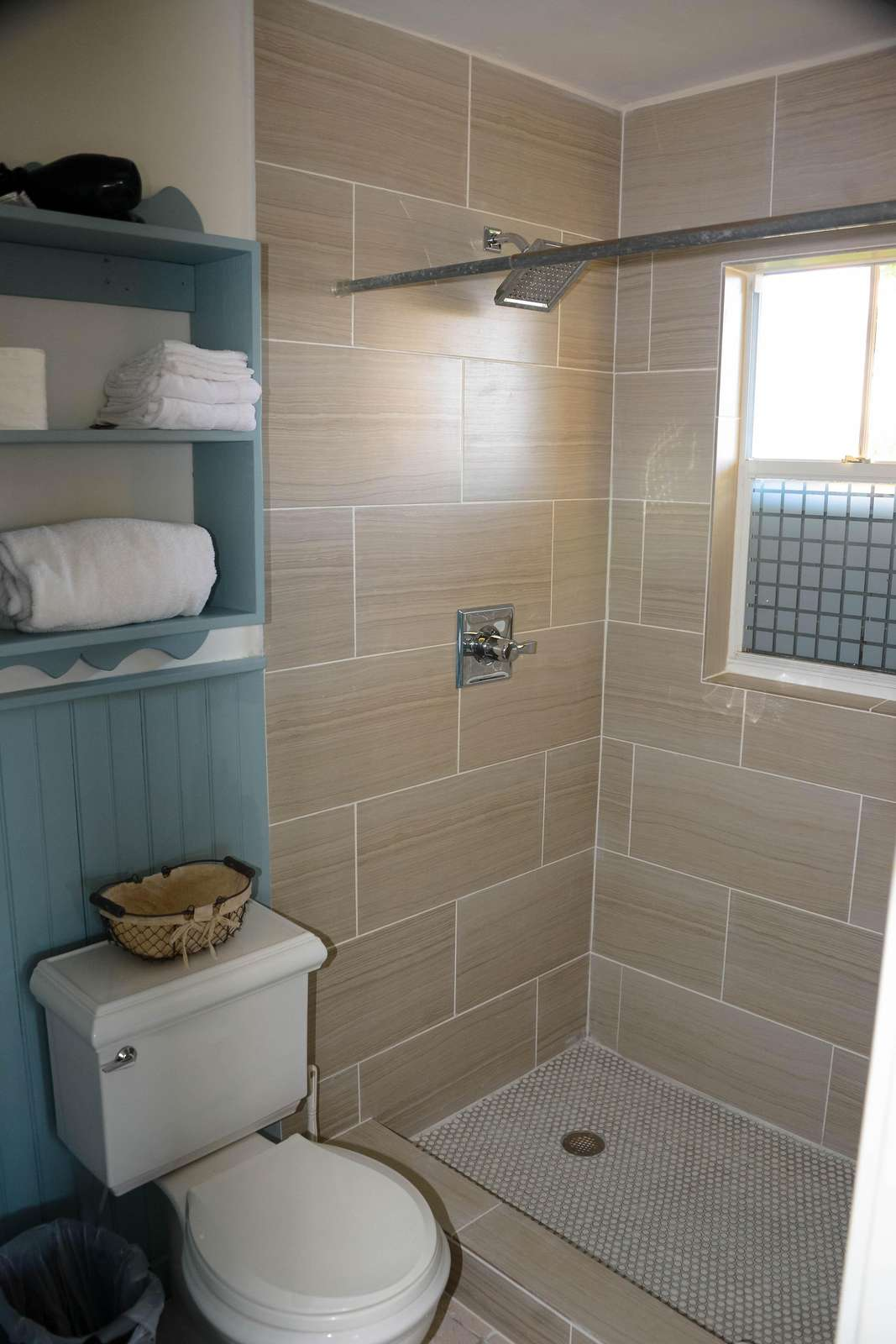 Master Bath, new tile in all bathrooms in 2018