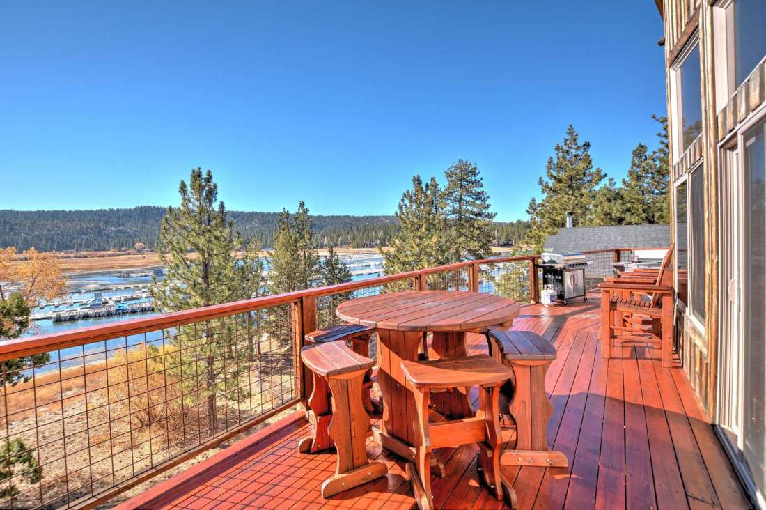 Two very large decks to enjoy the views from