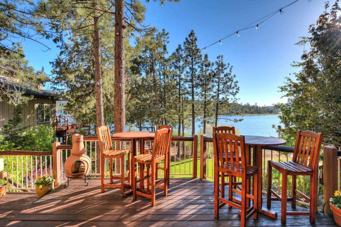 House decks have amazing views!