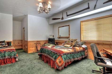 First floor bedroom with 2 queens