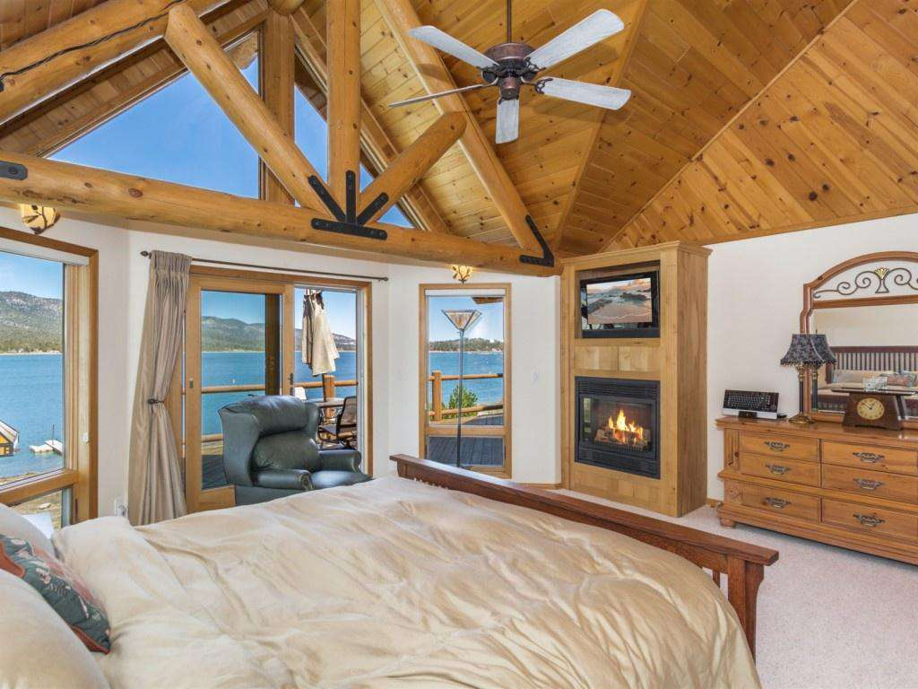 Master Bedroom with Views and Access to Deck
