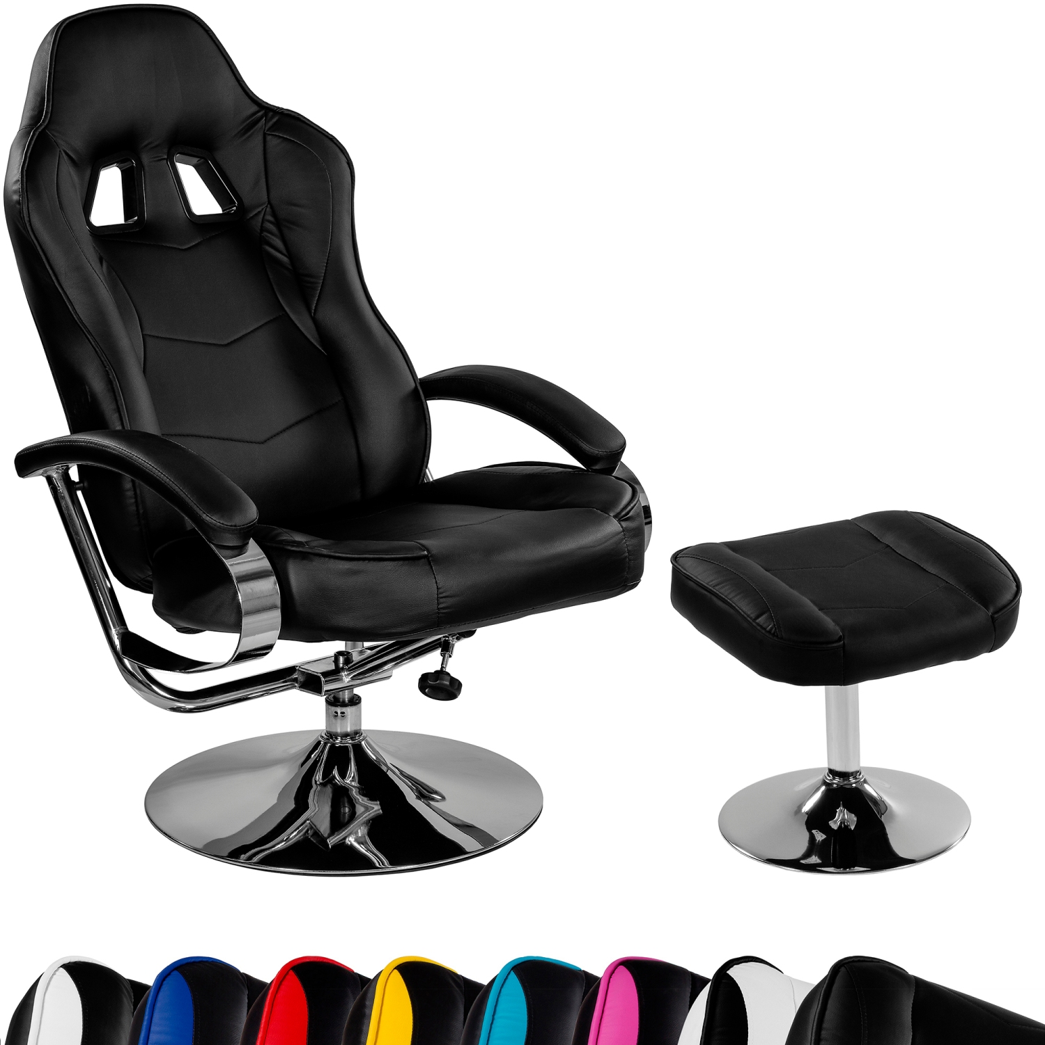 easy chairs with footrests hydraulic gaming chair racing tv relax racer gt footrest