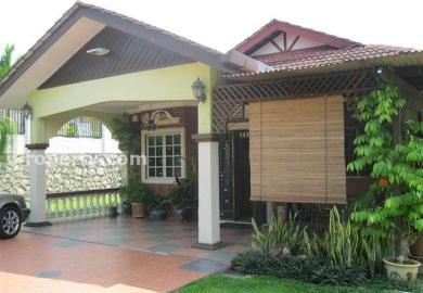 Single Storey Bungalow Design In Malaysia