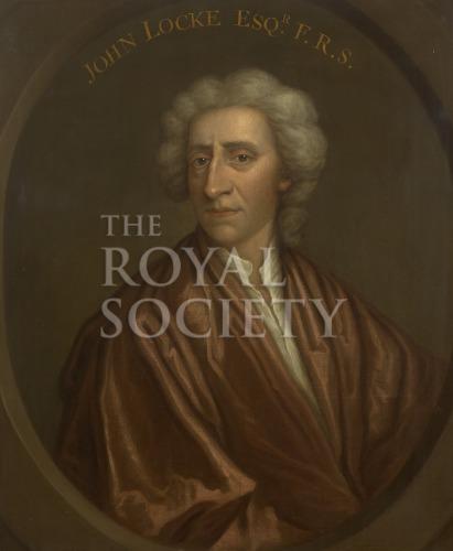 Portrait of John Locke  Royal Society Picture Library
