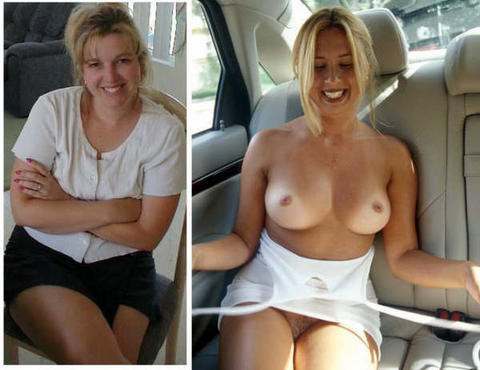 amateurs dressed and undressed